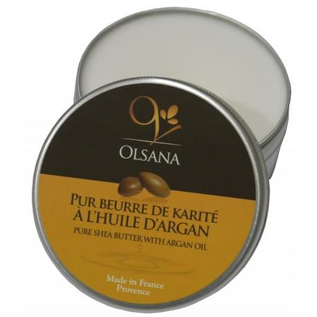 Pur beurre de Karité enrichi à l'huile d'Argan